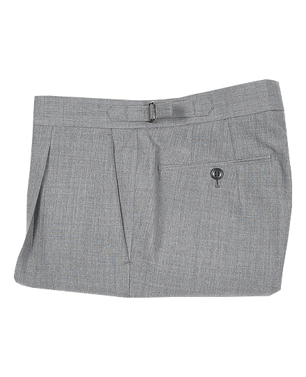 Signature Pants 02SUMMER WOOL LIGHT GRAY