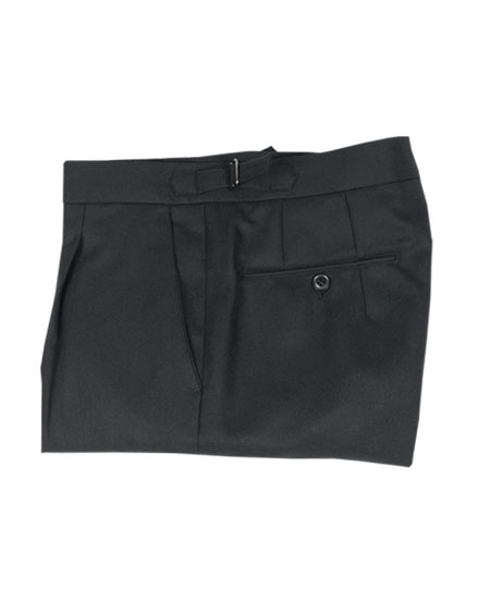 DAYOFFWEAR02 WIDE PANTS BLACK